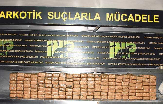 İstanbul'da 355 kilogram eroin ele geçirildi