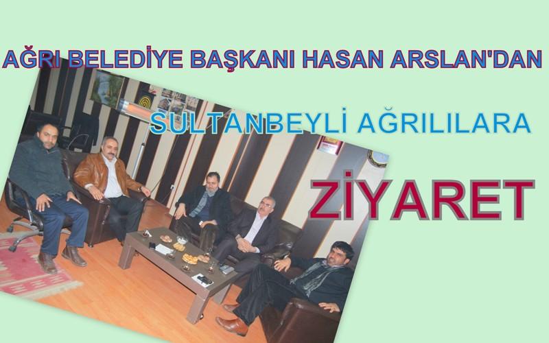 Ağrı Belediye Başkanı Sultanbeyli'de