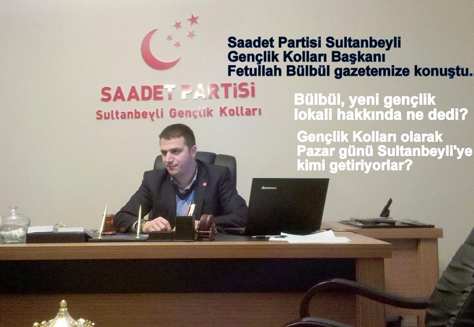 Bülbül: 'Fatih Erbakan 19 Şubat'ta Sultanbeyli'de'