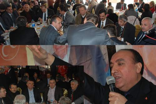 MHP İlçe Başkanı Metin Dağıstan  'Biz inandık, Üç hilali Maltepe'ye dikeceğiz'