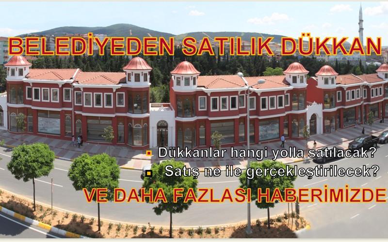 BELEDİYE'DEN SATILIK DÜKKÂN!