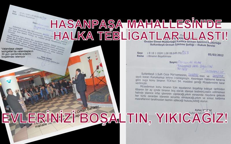 SULTANBEYLİ'DE YIKIM BAŞLIYOR! (MU?)