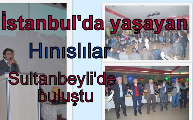 Hınıs'lılar Sultanbeyli'de buluştu