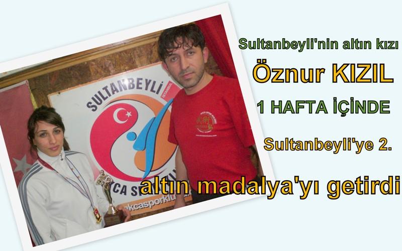Bir hafta içinde Sultanbeyli'ye dört altın madalya geldi