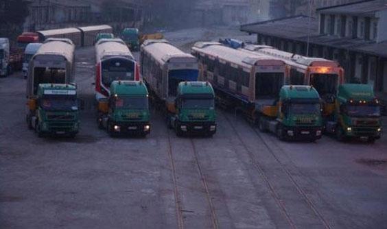 Marmaray`ın ilk vagonları İstanbul`a geldi