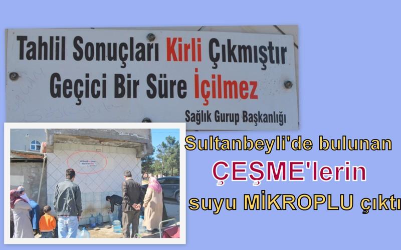 Sultanbeyli halkı su yerine 'mikrop' mu içiyor?