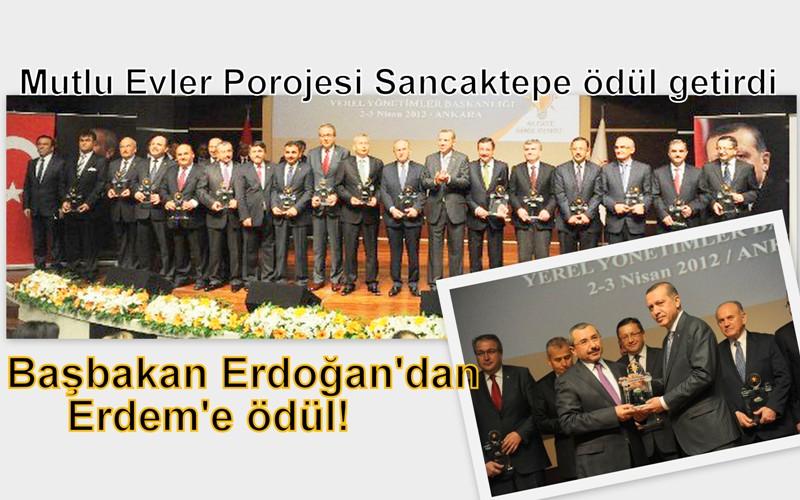 Başbakan Erdoğan'dan Erdem'e ödül