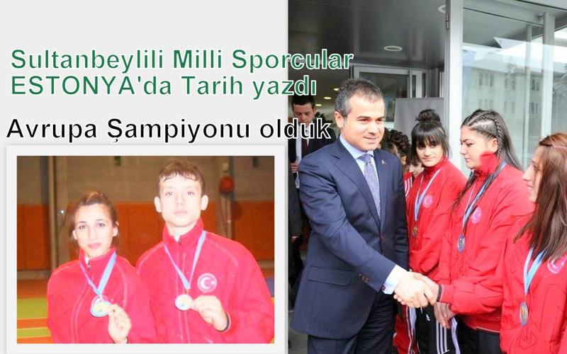 Sultanbeyli'nin sahipsiz sporcuları Avrupa Şampiyonu oldu