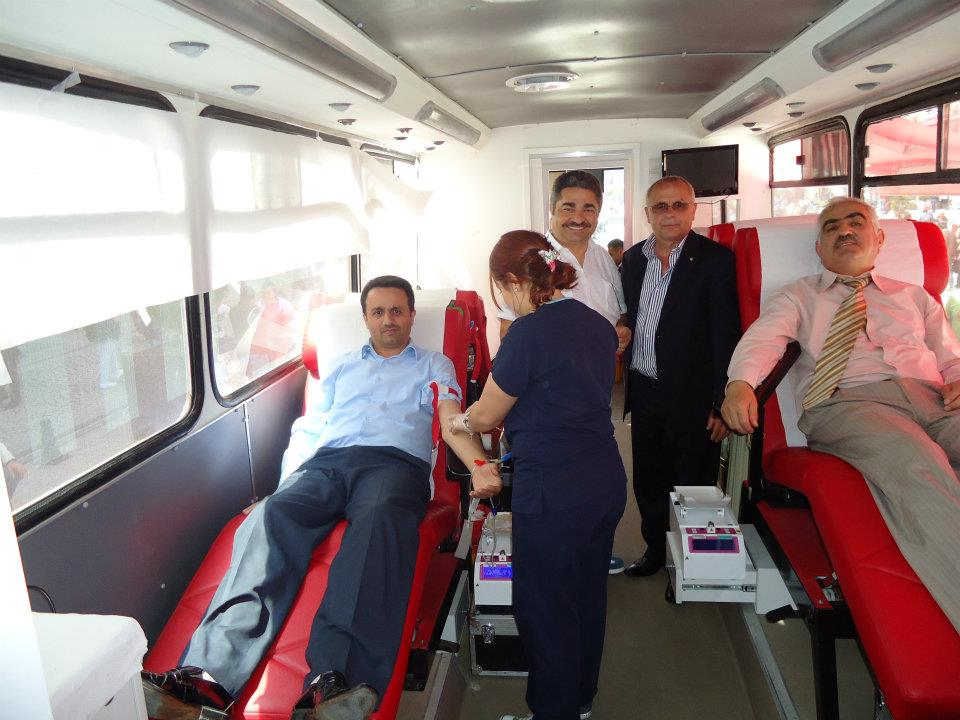 BBP ve Alperen Ocakları toplu kan bağışında bulundu