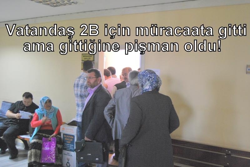 VATANDAŞA ORAYA GİT BURAYA GİT MUAMELESİ!