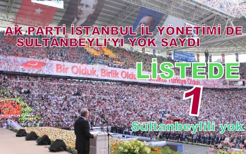 SULTANBEYLİ'NİN MÂKUS KADERİ!