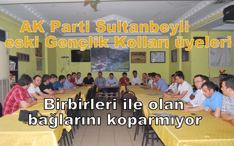 Sultanbeyli AK Parti eski Gençlik Kollarının vefa buluşmaları devam ediyor