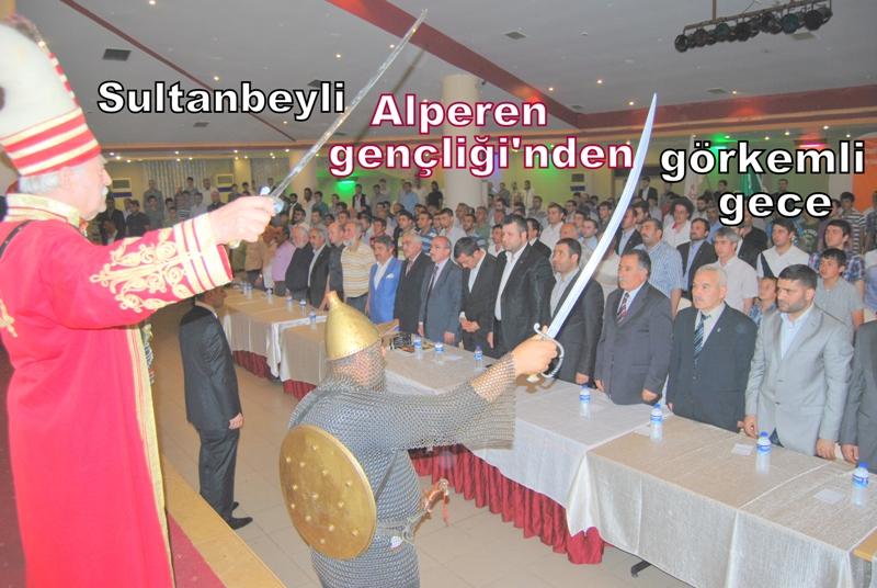 Sultanbeyli Alperen Gençliğinden görkemli gece
