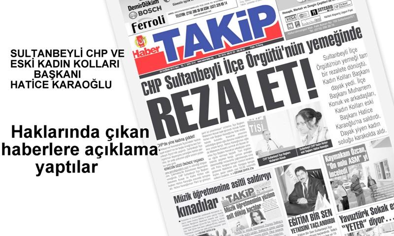 Sultanbeyli CHP'de yaşanan kavga olayına taraflardan açıklama geldi