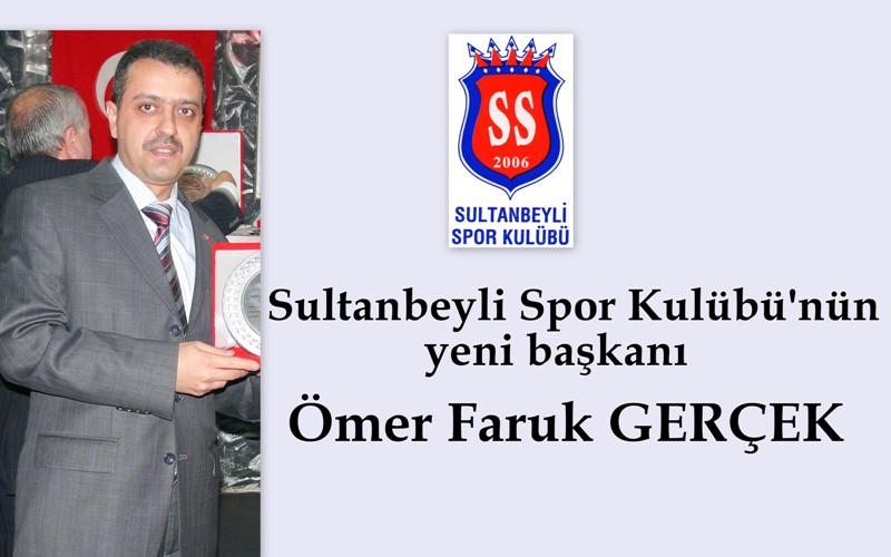 Gerçek, Sultanbeylispor kulübü başkanlığına seçildi