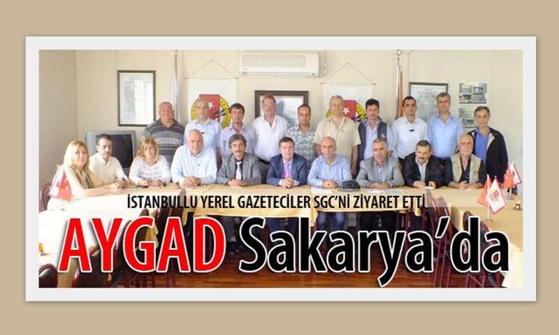 AYGAD, Sakarya yerel basınını ziyaret etti