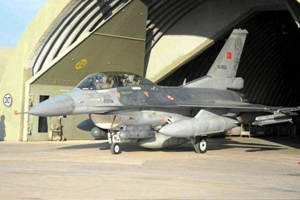 Komutan F-16'da!