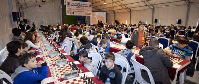 Atatürk Kupası Satranç Turnuvası Başladı