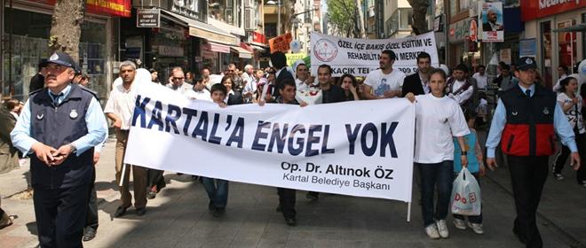 Kartal Belediyesi Engelleri Kaldırıyor