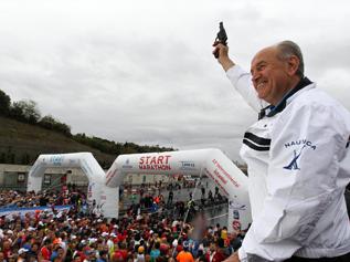 34. Kıtalararası Avrasya Maratonu Başkan Topbaş'ın Startıyla Başladı