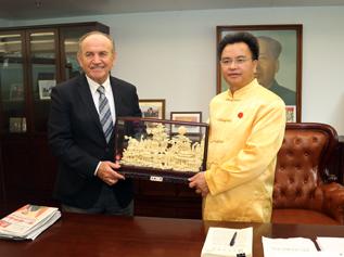 Başkan Kadir Topbaş Çin Guanzo'da temaslarına başladı