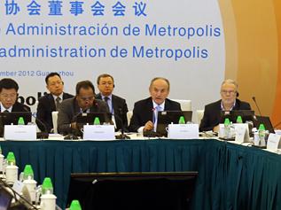 Başkan Topbaş Metropolis'in açılış konuşmasını yaptı