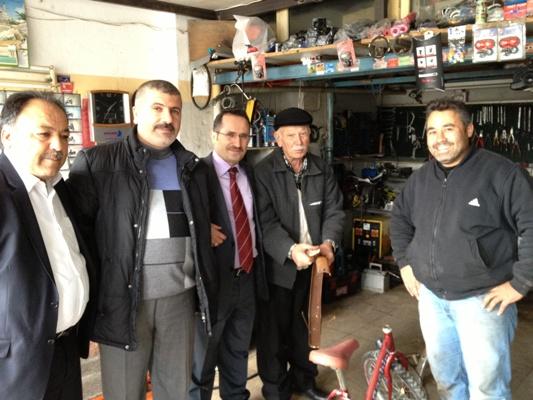 Halkın Yöneticileri Ziyaret Mesaisinde