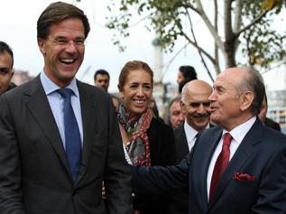 Hollanda Başbakanı Istanbul'da