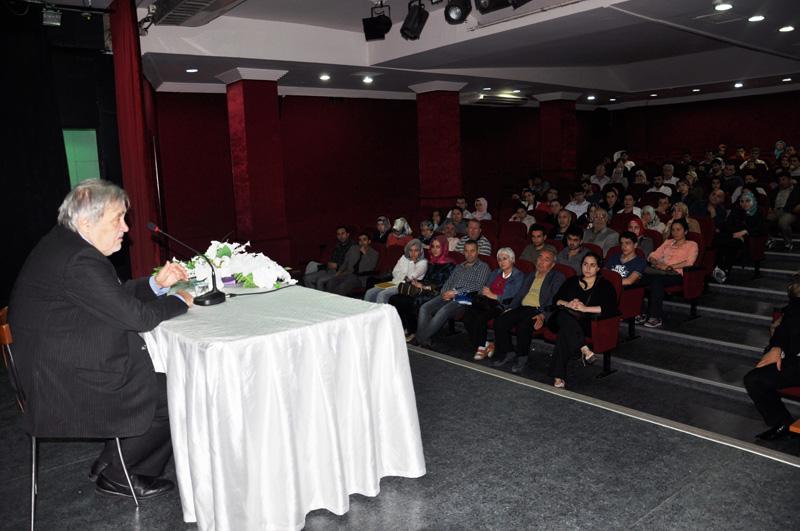 Ekim Ayı Kültür Sanat Etkinliklerinin Son Konuğu Prof.Dr. Ilber Ortaylı Oldu