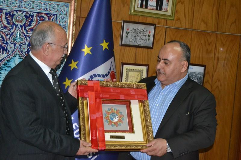 Başkan Hasan Can, Kütahya Belediye Başkanı Mustafa Iça'yı Ziyaret Etti