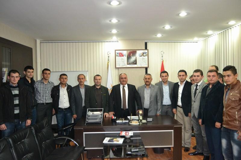 Başkan Hasan Can, Afyon Belediye Başkanı ve Ak Parti Il Başkanını Ziyaret Etti