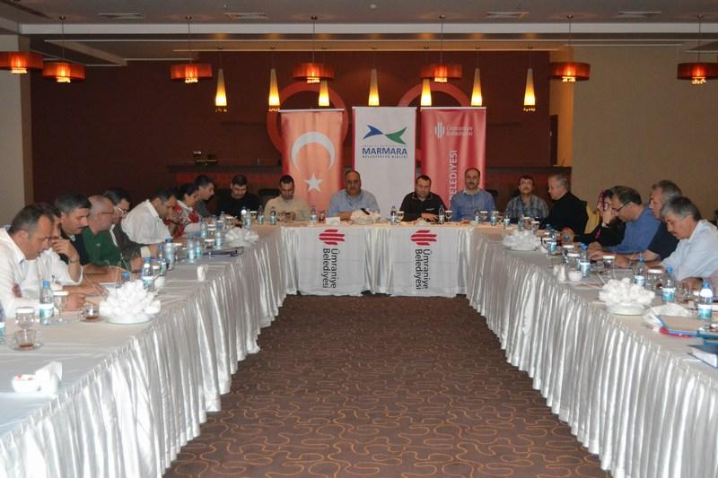 Ümraniye Belediyesi'nden Afyon'da Değerlendirme Toplantısı