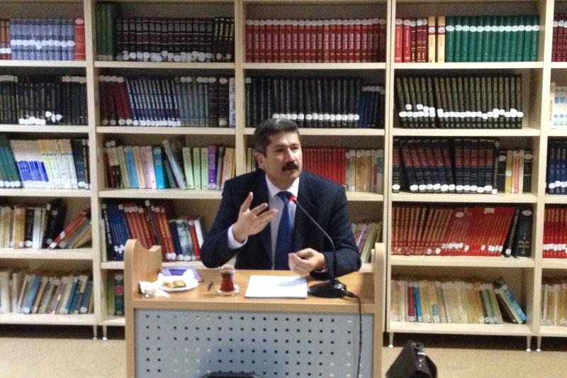 Edebiyat Buluşmaların Bu Ayki Konuğu Prof. Dr. M. Fatih Andı Oldu