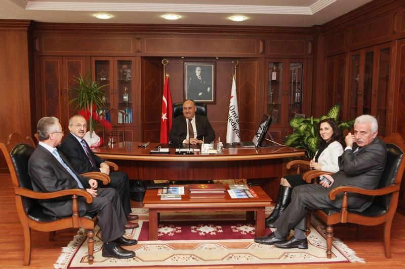 Öğretmenlerden Başkan Hasan Can'a Ziyaret
