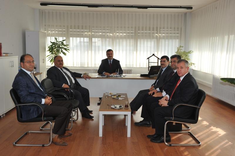 Başkan Hasan Can'dan Ümraniye Uygulama Grup Müdürüne Ziyaret