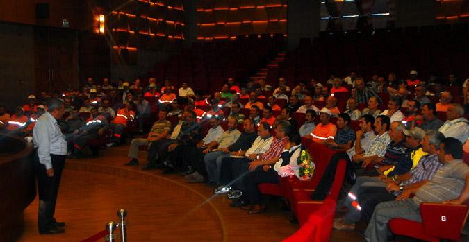 Personel eğitim seminerleri devam ediyor
