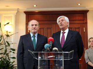 Başkan Topbaş'a Şili Belediyeler Birliği Başkanı'ndan ziyaret