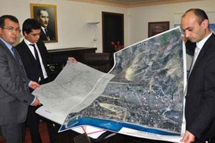 Datça'nın haritasını IHA'lar çıkarttı