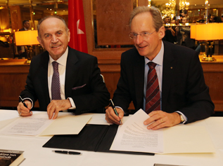 Istanbul Büyükşehir Belediyesi ile Stuttgart Belediyesi Ar-Ge Merkezi kurdu