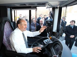 Çevre dostu yeni otobüsler Istanbul sokaklarında…