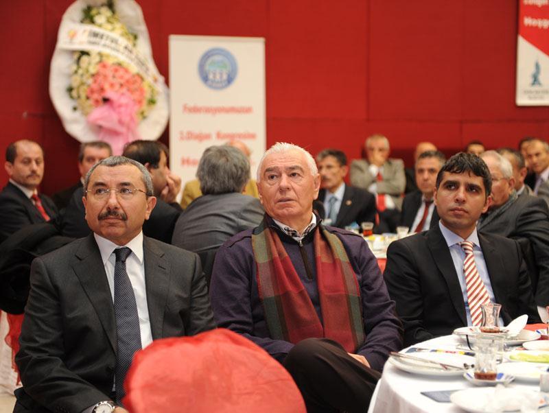 Başkanımız, Koyulhisar Dernekler Federasyonu Genel Kurul Toplantısı'na katıldı