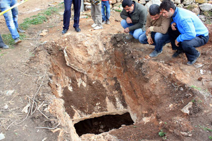 Mersin'de Oda Mezar bulundu