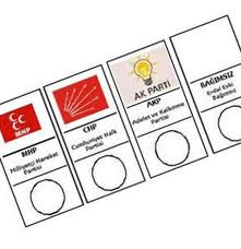 Oy Vereceğiniz Parti Hangi Sırada?
