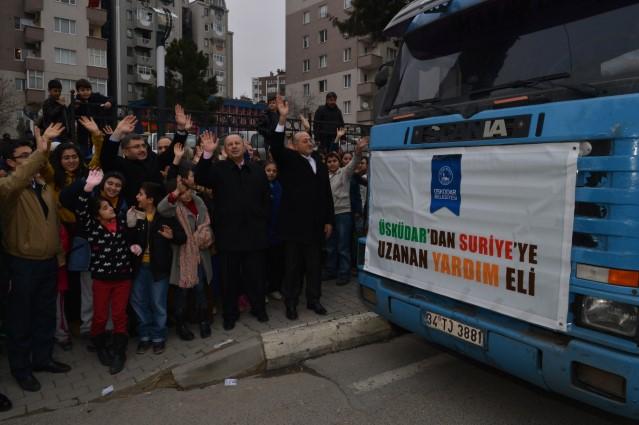 Üsküdar'dan Suriye'ye Kardeş Eli