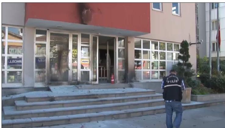 Sancaktepe'de Molotoflu Saldırı