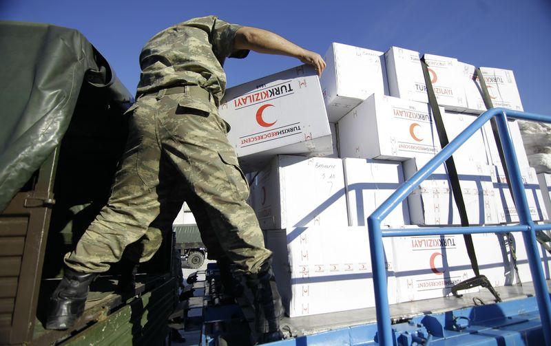Bosna'ya Türkiye'den Yardım Eli