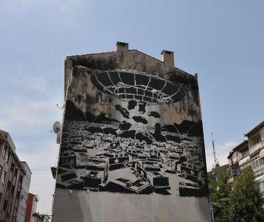 Kadıköy'de Her Yer Sanat
