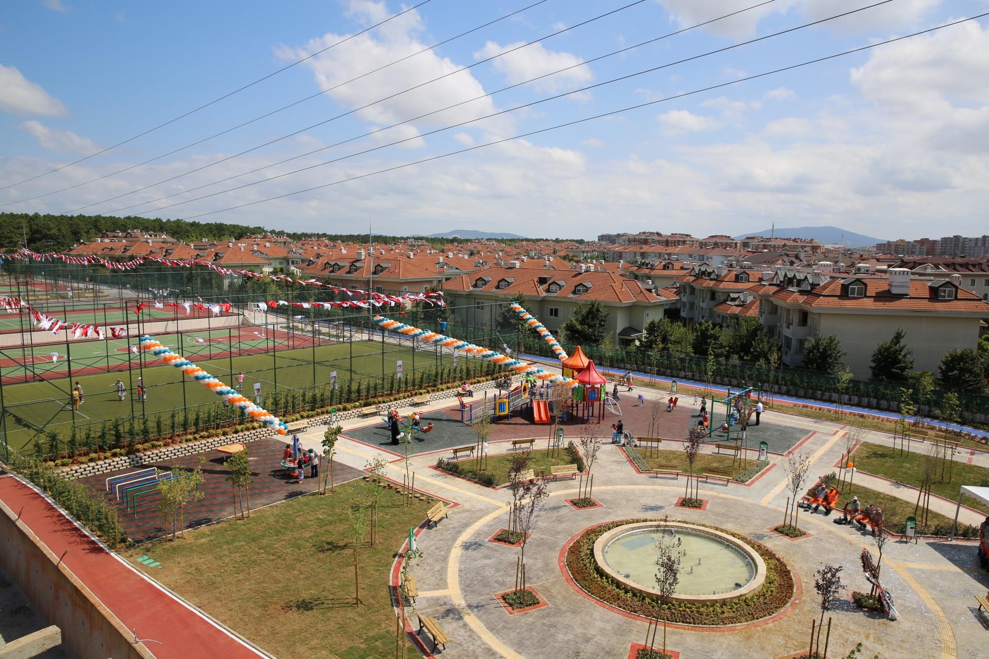 Engelsiz Park Hizmete Açıldı