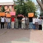 Şile'de Müdür Protestosu