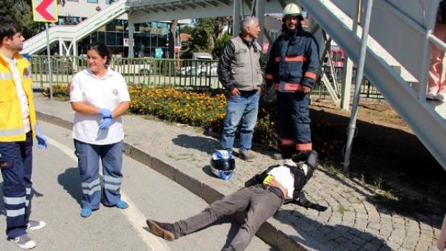 Üsküdar'da Kaza: 2 Yaralı